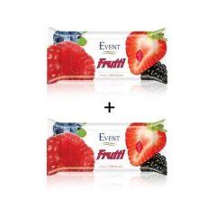 Event Frutti Промо пакет Почистващи мокри кърпи с аромат на горски 2x15 бр