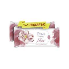 Event Flora Промо пакет Почистващи мокри кърпи с аромат на магнолия 2x15 бр