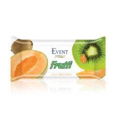 Event Frutti Почистващи мокри кърпи с аромат на пъпеш и киви 15 бр