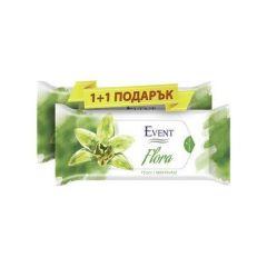 Event Flora Промо пакет Почистващи мокри кърпи с аромат на орхидея 2x15 бр