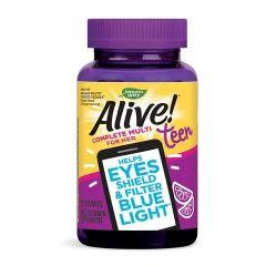 Nature's Way Alive Teen Complete For Her Алайв мултивитамини за момичета х50 желирани таблетки