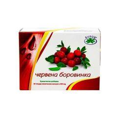 Bouroff Червена боровинка за бъбреци и пикочни пътища х60 капсули