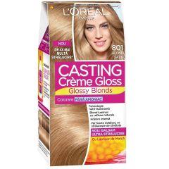 Loreal Casting Creme Gloss Боя за коса без амоняк 801 Blond Satin