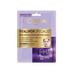 Loreal Hyaluron Specialist Хидратираща хартиена маска за възстановяване обема на лицето 30 грама