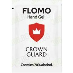 Фломо антибактериален гел за дезинфекция със спирт 70% алкохол сашета 3мл х 20