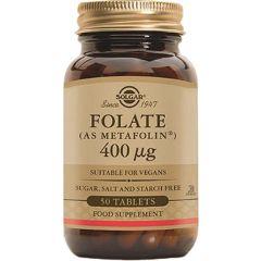 Solgar Folate Фолат 400 мкг х50 капсули
