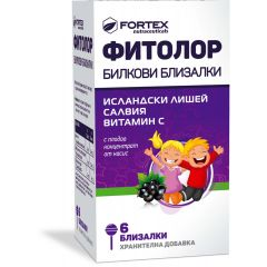 Fortex Фитолор билкови близалки х6 броя