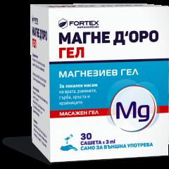 Fortex Магне Д'оро Магнезиев гел 3 мл х30 сашета