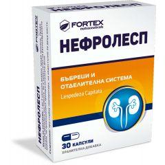 Fortex Нефролесп за бъбреци и отделителна система x30 капсули
