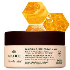 Nuxe Reve de Miel Подхранващо олио-балсам за тяло за много суха и чувствителна кожа 200 мл