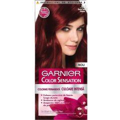 Garnier Color Sensation Трайна боя за коса, 4.60 Intense Dark Red