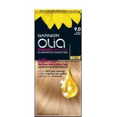 Garnier Olia Трайна безамонячна боя за коса, 9.0 Light Blonde