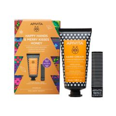 Apivita Happy Hands and Merry Kisses Honey Gift Set Подаръчен комплект