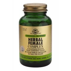 Solgar Herbal Female Complex Билков комплекс за жени х50 капсули