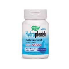 Nature's Way Hydraplenish with MSM Хидраплениш с МСМ за здравето на кожата и ставите 750 мг х30 капсули