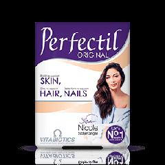 Vitabiotics Perfectil Original за здрава коса, кожа и нокти x 30 таблетки