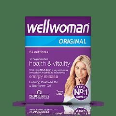 Vitabiotics Wellwoman Original Витамини за повече жизненост и здраве при жените x 30 капсули