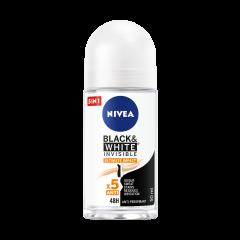 Nivea Black & White InvisibleUltimate Impact Дезодорант спрей против изпотяване за жени 50 мл