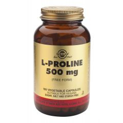 Solgar L-proline  Л-пролин за стави 500 мг х100 капсули