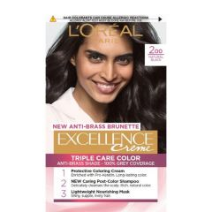 Loreal Excellence  Creme Боя за коса, 200 Natural Black