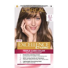 Loreal Excellence  Creme Боя за коса, 6.1  Dark Ash Blonde