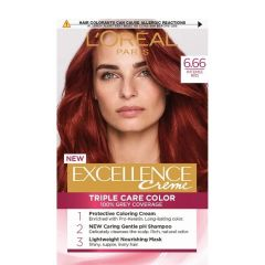 Loreal Excellence  Creme Боя за коса, 6.66 Intense Red
