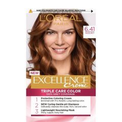 Loreal Excellence  Creme Боя за коса, 6.41 Hazelnut