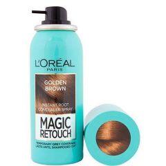 Loreal Magic Retouch Спрей за прикриване на бели корени 10 Golden Brown 75 мл
