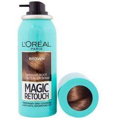 Loreal Magic Retouch Спрей за прикриване на бели корени 3 Brown 75 мл
