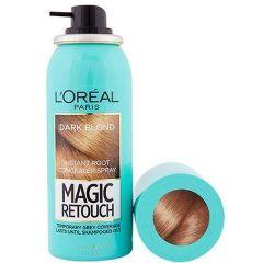 Loreal Magic Retouch Спрей за прикриване на бели корени  4 Dark Blond 75 мл