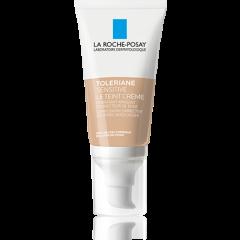La Roche-Posay Toleriane Тониран успокояващ хидратиращ крем за лице светъл нюанс 50 мл