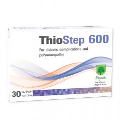 Magnalabs Thiostep 600 за поддържане нормални нива на кръвната захар х30 капсули