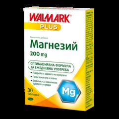 Walmark Магнезий Грижа за нервната система и мускулите 200 мг х 30 таблетки