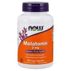 Now Foods Melatonin Мелатонин 3 мг х 180 капсули