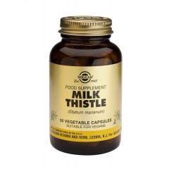 Solgar Milk Thistle Herb Extract Екстракт от семена на Магарешки бодил при чернодробни проблеми х50 капсули