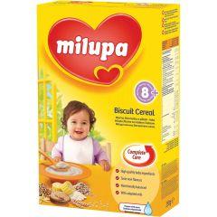 Milupa млечна каша бисквитена 8М+ 250 гр