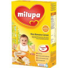 Milupa млечна каша ориз и банан 4М+ 250 гр