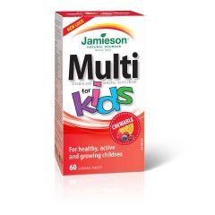Jamieson Multi for Kids Витамини и минерали за деца х 60 дъвчащи таблетки