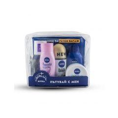 Nivea Travel Set Дамски комплект за пътуване с мини продукти