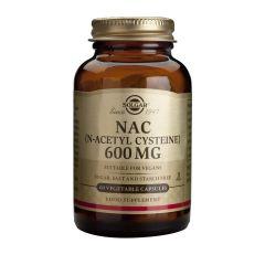 Solgar NAC (N-Acetyl Cysteine) Н-ацетил цистеин за детоксикация 600 мг х60 капсули
