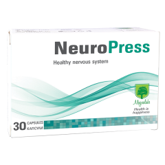 Magnalabs Neuropress При нервно напрежение и психически стрес х30 капсули