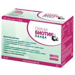 Omni Biotic Panda Пробиотик при имунологичен дисбаланс за майката и бебето 30 сашета х3 гр