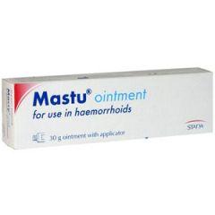Mastu Ointment Унгвент при хемороиди 30 гр Stada