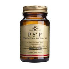 Solgar Pyridoxal-5-Phosphate Пиридоксал 5 Фосфат защитава имунната система 50 мг x50 капсули