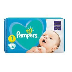 Пелени Pampers Размер 1 New Born 62 бр