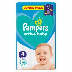 Пелени Pampers Jumbo Pack Размер 4 Maxi 70 бр