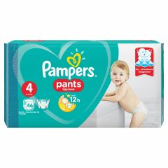 Пелени - гащички Pampers Pants Размер 4 Maxi 46 бр