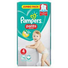 Пелени - гащички Pampers Pants Размер 4 Maxi 52 бр