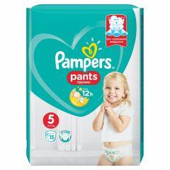 Пелени - гащички Pampers Pants Размер 5 Junior 15 бр