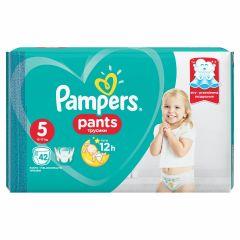 Пелени - гащички Pampers Pants Размер 5 Junior 42 бр